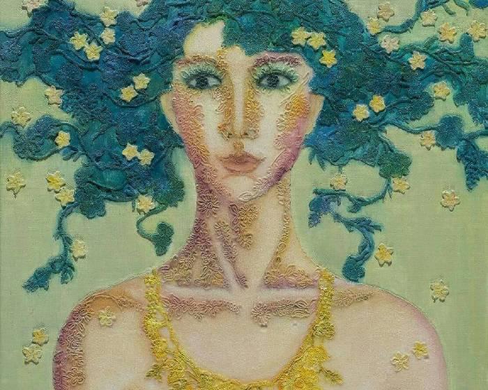 99°藝術中心【祕境之花】吳麗玉 - 花與女人系列個展