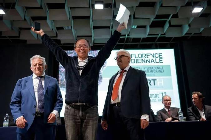 時光林榮獲2017佛羅倫斯雙年展第五名洛倫佐國際大獎。