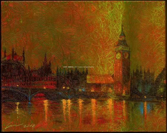 《倫敦時光》,2012。入選2013年第18回國際公募美術未來展。