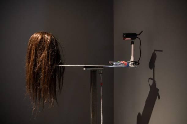 蒲帥成《視覺獻祭》© 臺北市立美術館。
