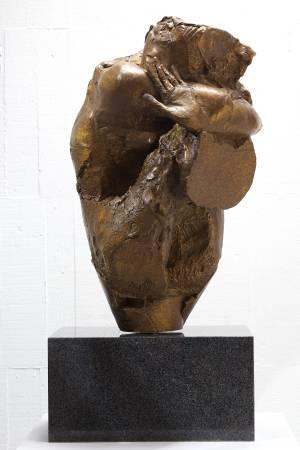 盈甕  35x37x62.5cm,Bronze,2013