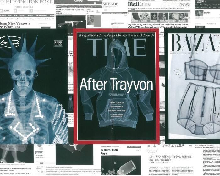 揭露視覺之下的藝術性及時光回溯 英國X光藝術家尼克‧維西
