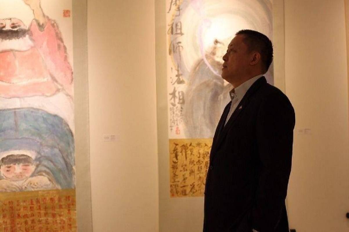 台灣文化會館基金會董事長林博文。 國璽藝術/提供