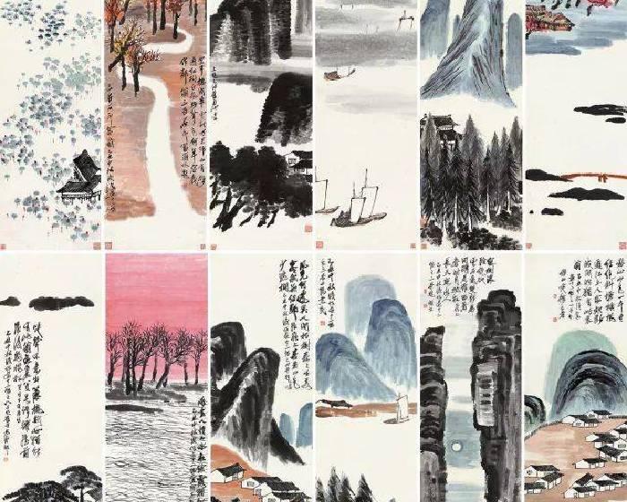 史上最貴近現代書畫!白石老人12條屏9.315億人民幣拍出
