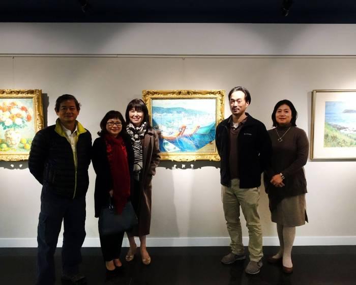 阿波羅畫廊:【巨擘薪傳】台灣前輩藝術家特展