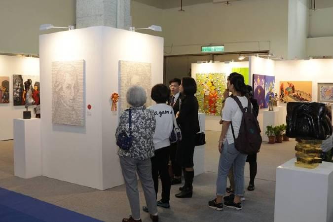 「2018國際藝術家大獎賽」入圍作品將於2018年5/18~5/21「第八屆台北新藝術博覽會」中展出。