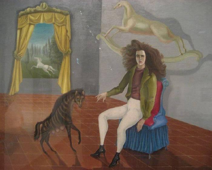 墨西哥的英國國寶 畫家卡靈頓