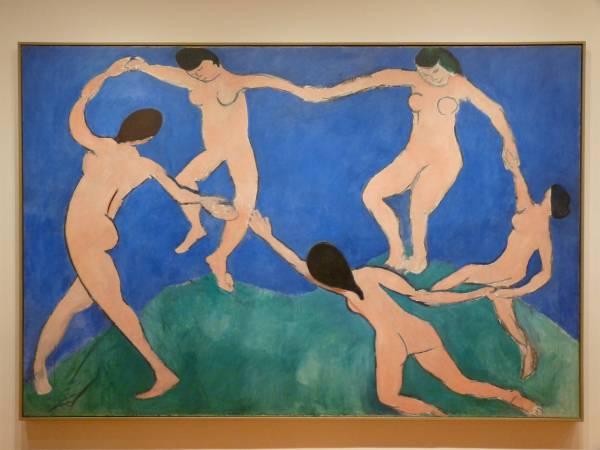 亨利•馬蒂斯《舞蹈》(La Danse),1909。圖/取自flickr。