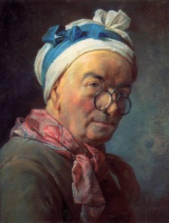 夏丹《自畫像》。圖/取自Wikipedia。