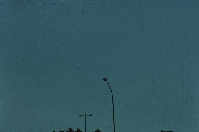 蔡孟閶 <大汕>,2012,油彩、畫布,60.5x41 cm