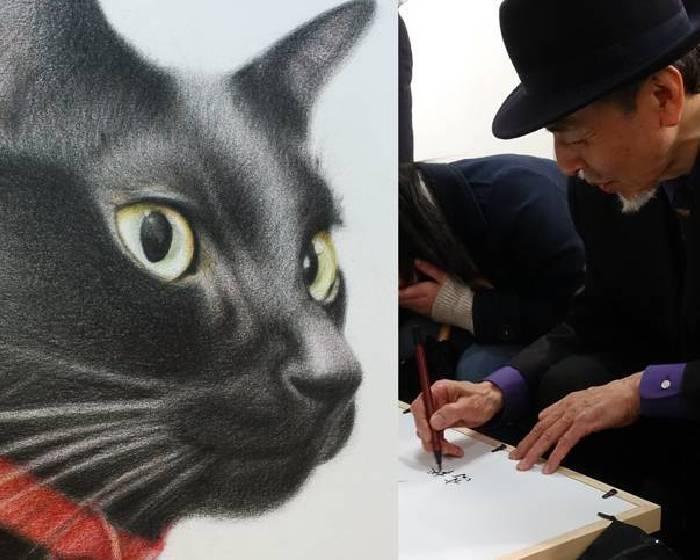 愛的體現與療癒人心的藝術創作 高橋行雄筆下的「貓系列」