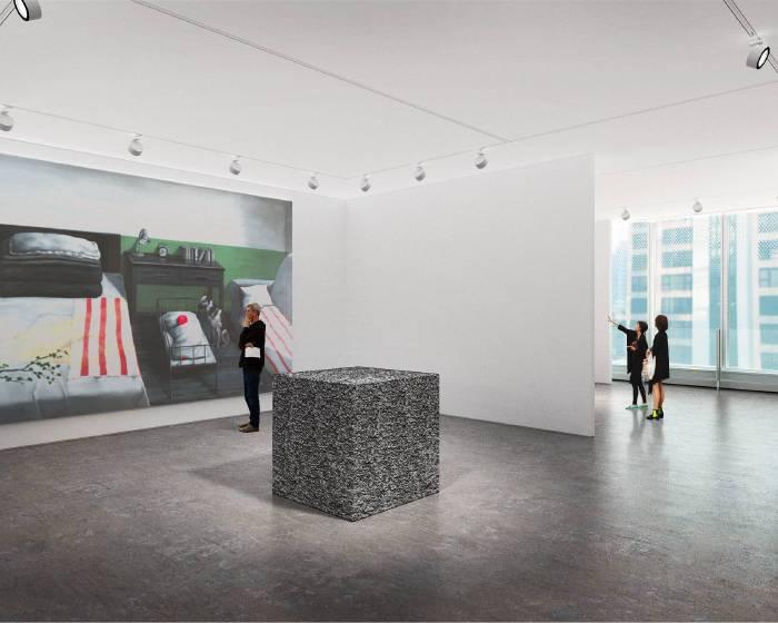 佩斯畫廊第二空間 三月香港開幕