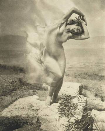 Edward Steichen, Wind Fire。圖/取自Wikipedia。