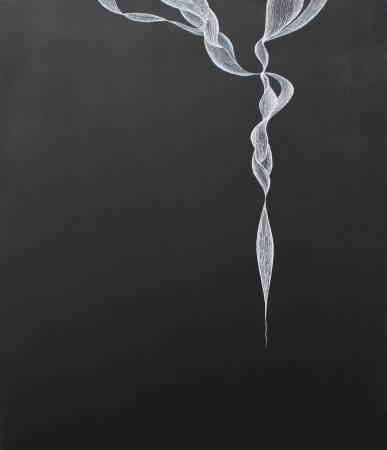 《平靜》系列 No.6 布面壓克力顏料 54x46cm 2011