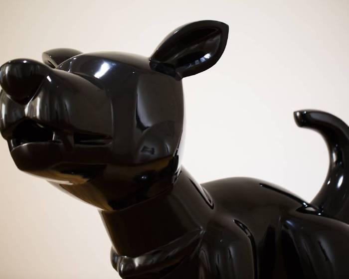 「我在做的,是一種純真度」 黃柏仁狗狗雕塑簡單不簡單