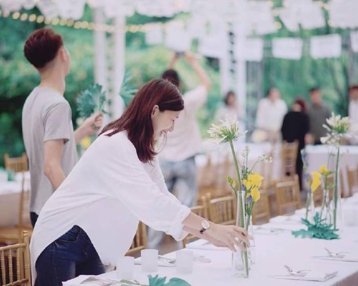 觀想藝術【花作畫・體驗課程】藝術生活的新樣貌