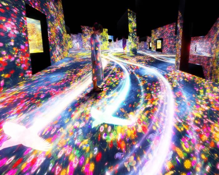 無展品的博物館!teamLab再次創造數位藝術的無限可能