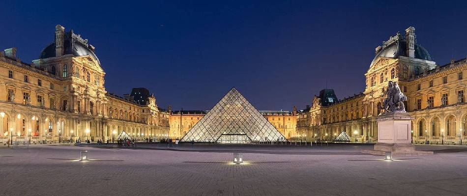 羅浮宮外觀。圖/Benh LIEU SONG 攝,取自Wikipedia。