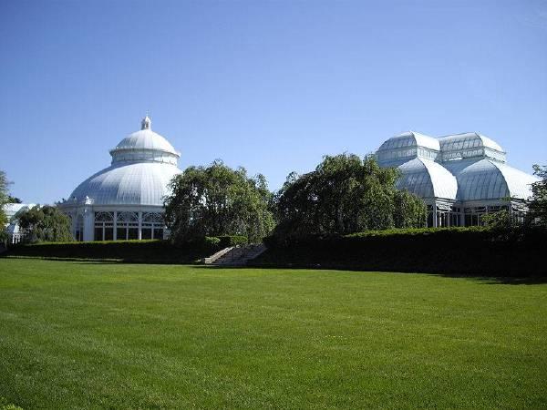 紐約植物園一景。圖/取自Wikipedia。