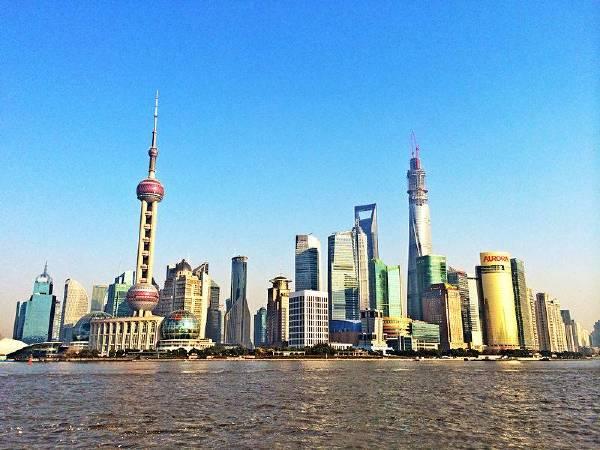 上海浦東一景。圖/取自Wikimedia。