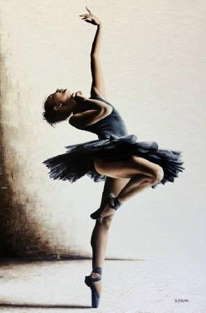 Richard Young《Mystique》油畫 61×91cm 2018 英國