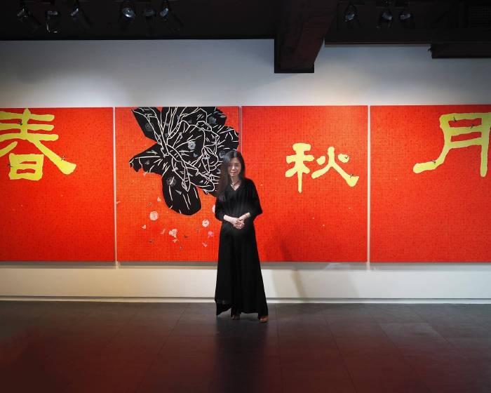 她繪出了藝術最純粹的本質與生命的律動 專訪藝術家金芬華