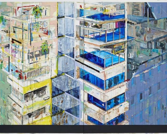 就在藝術空間【2018香港巴塞爾藝術展 ArtBasel HongKong】藝廊薈萃- 陳建榮 ⽑利悠⼦ 許尹齡 張徐展