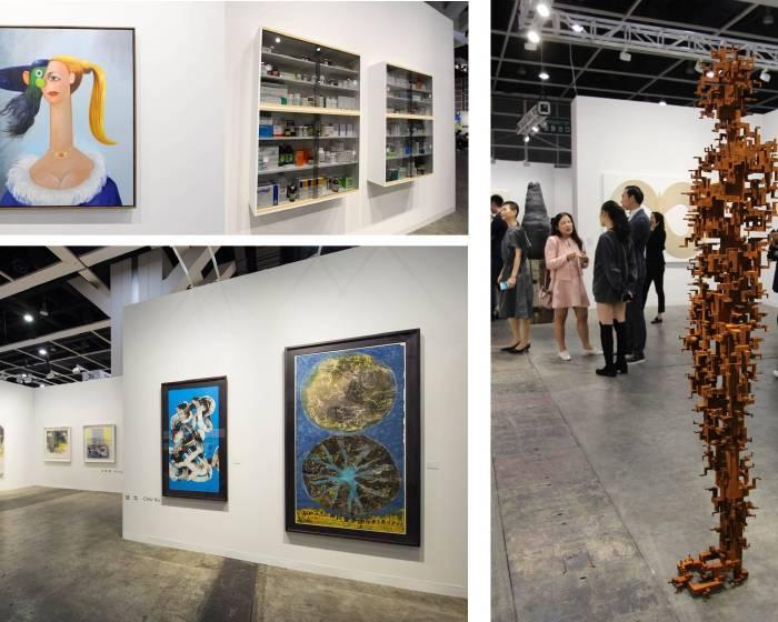共譜變動中的當代藝術發展脈絡 香港巴塞爾公眾展期前一天陣容強勁