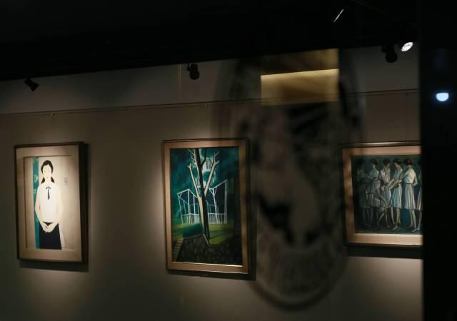 阿波羅畫廊 畫廊四十週年特展系列(一) 蕭如松紀念展 場景