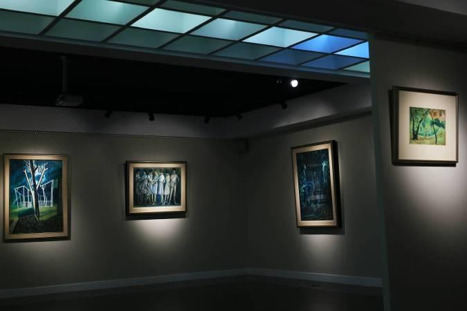 阿波羅畫廊四十週年特展系列(一) 蕭如松紀念展  場景