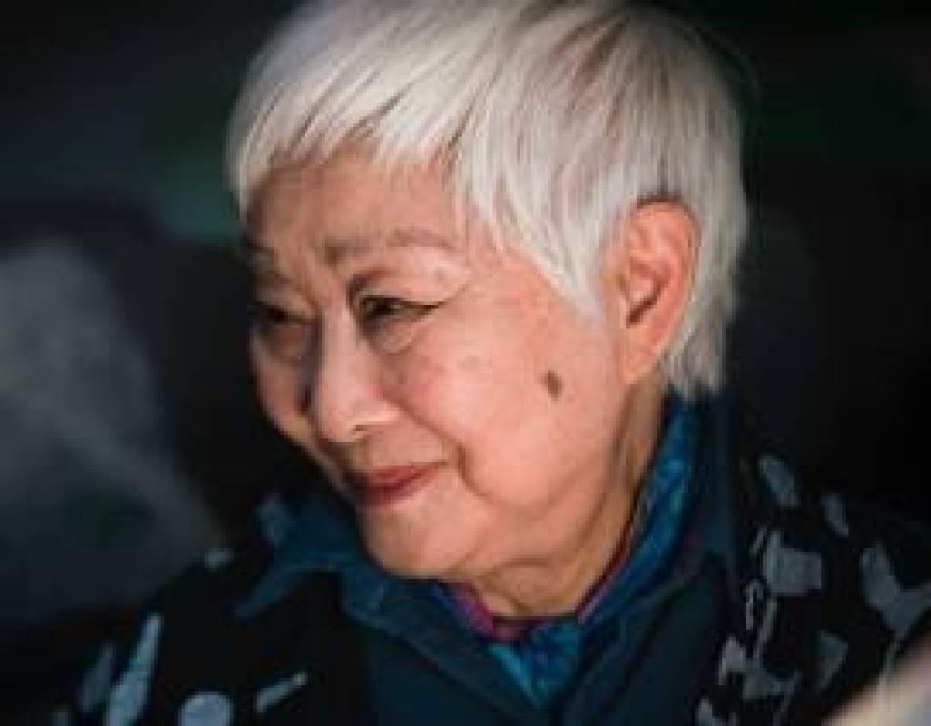 盧燕/飾演 飛機上老婦人