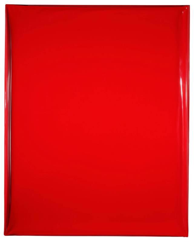 洪藝真-紅層-150x120cm-壓克力顏料、玻璃纖維-2007