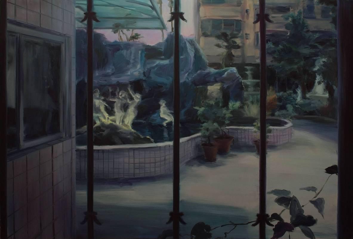 5. 鄒享想 Tsou Hsiang Hsiang, 'No.135-1', 2017, 油畫顏料、畫布 oil on canvas, 145.5x97cm