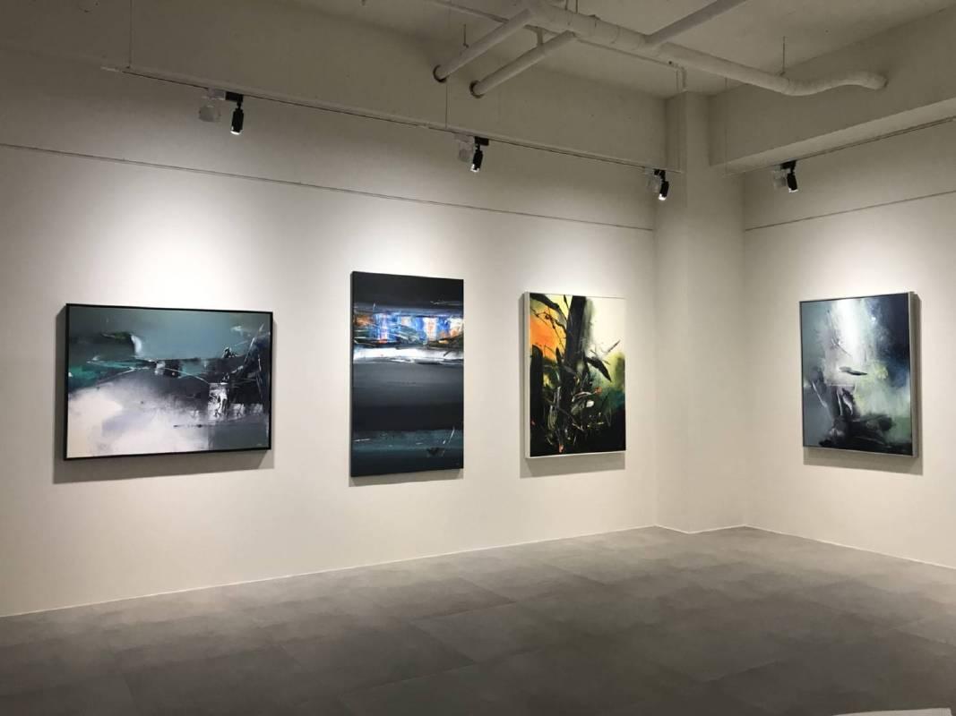 耘非凡美術館《複弦‧和鳴-留洋女性藝術家特展》展場