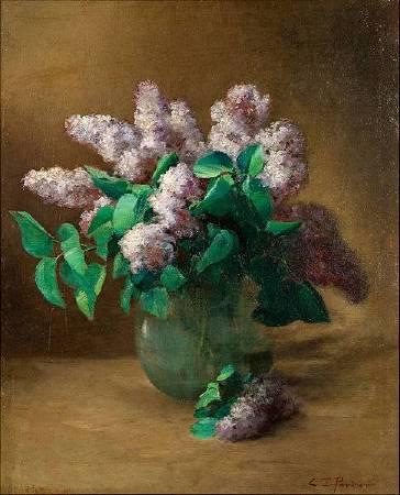 Charles Ethan Porter《Lilacs》,1890。圖/取自Wikipedia。
