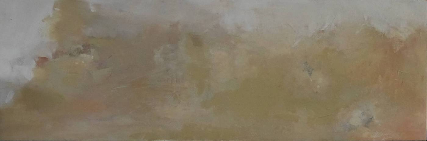 07-35, 重返伊甸–榮光, 70x210cm, 複合媒材, 2007