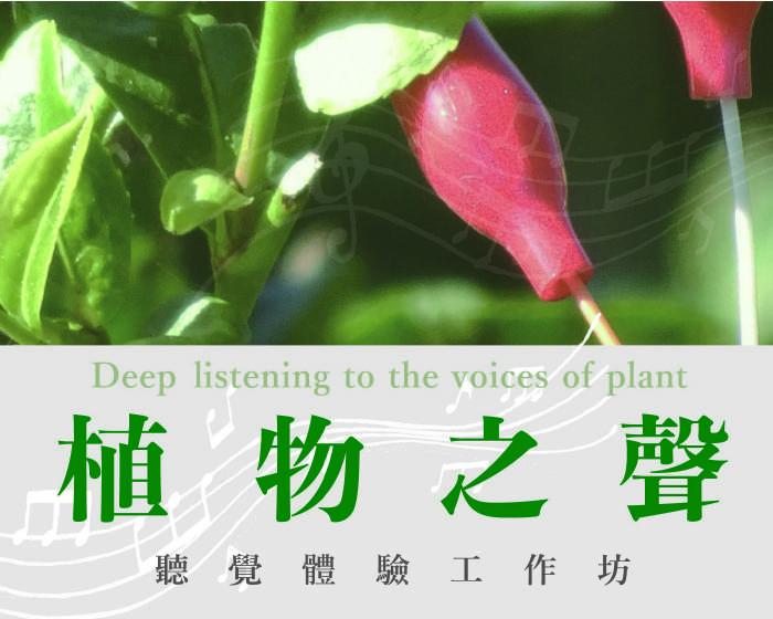 帝門藝術教育基金會【水流心田藝術家駐校計畫】─《植物之聲》聽覺體驗工作坊