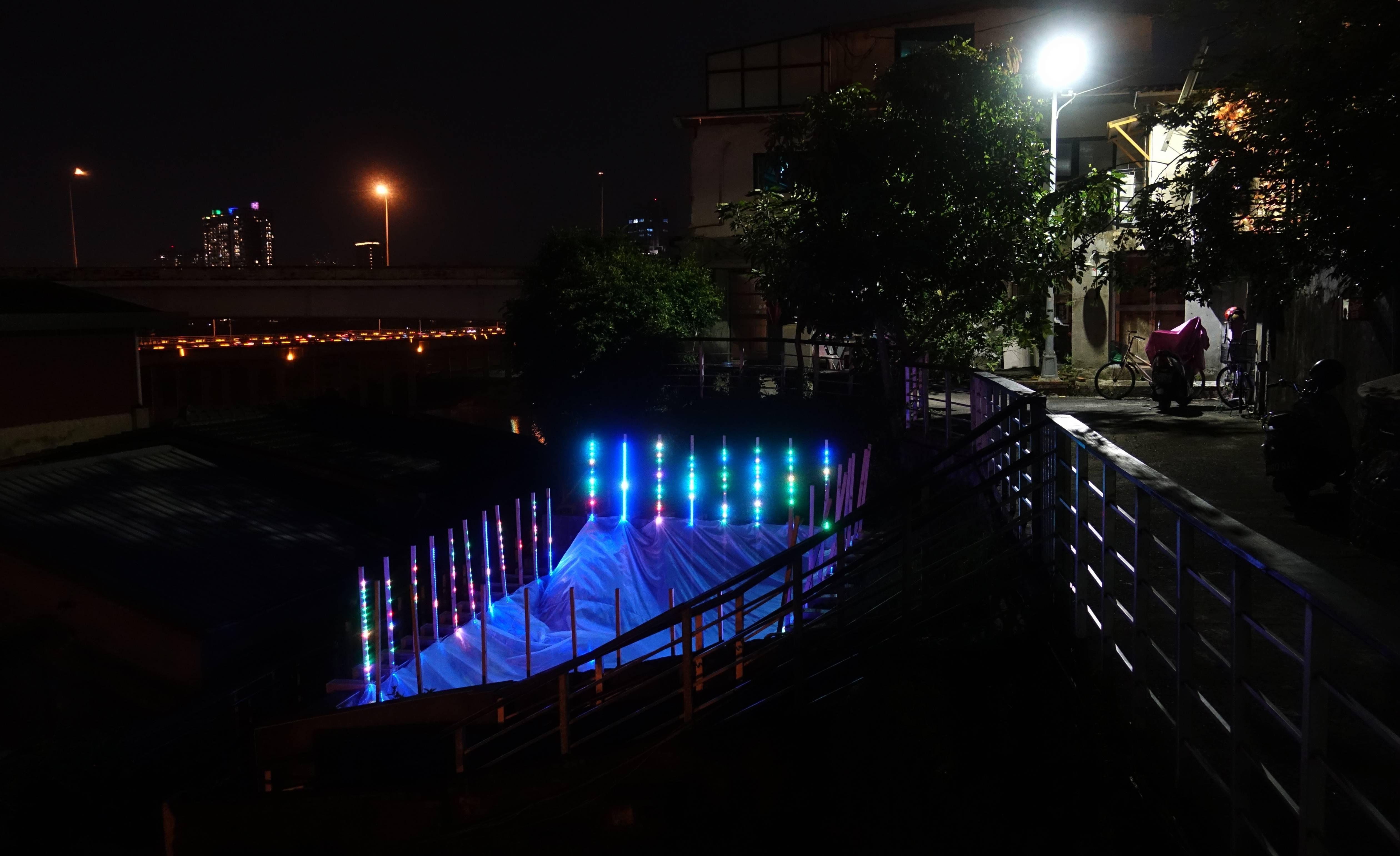 「輕量級」跨校工作營作品。圖/非池中藝術網攝。