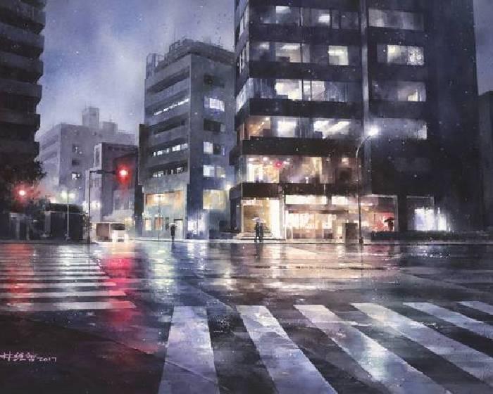 晴山藝術中心有限公司【<城市雨言>】