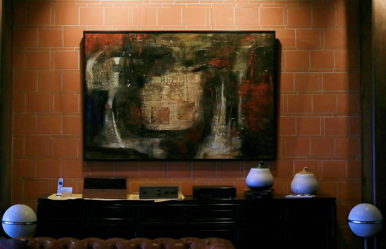 林玉雯 溫度.空間(二) 油彩.畫布《展示於 同心樓》