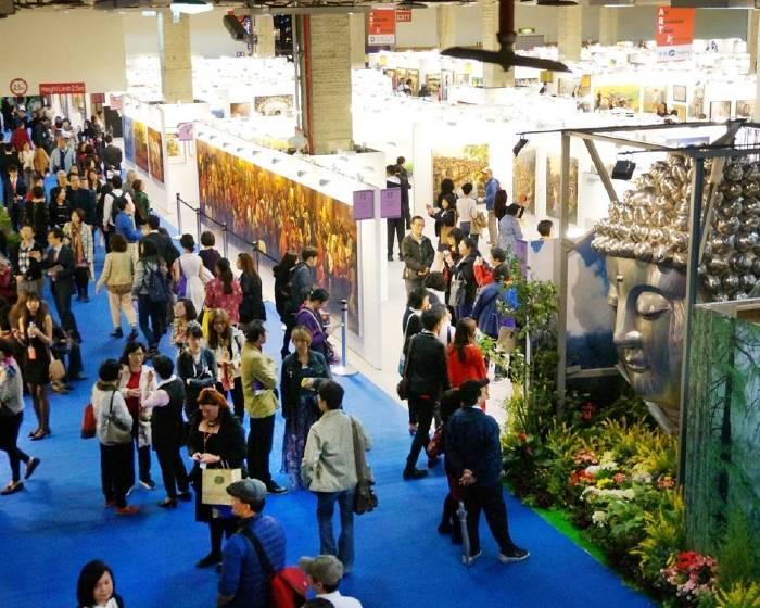 台北新藝術博覽會【2018台北新藝術博覽會 國際藝薈】藝術家本身就是藝術 74國 471位藝術家歷屆最多