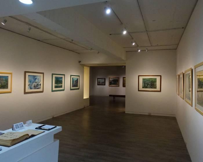 藝境畫廊:【一江淡水向西流】翁大成個展暨收藏展