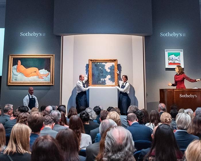 莫迪里安尼《向左側臥的裸女》47億台幣成為蘇富比史上最高成交拍品