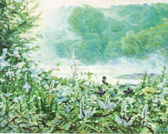 描繪自由與大氣的透明性 印象記憶間的永恆顫動 李全淼的藝術創作
