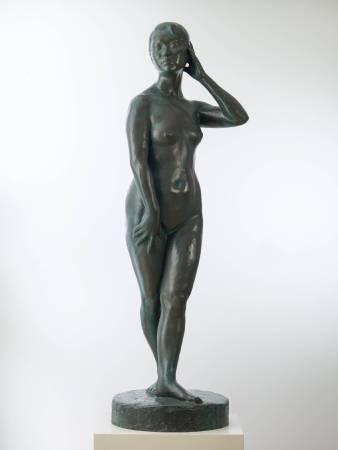 蒲添生 春之光 1958 銅 175×51×48cm