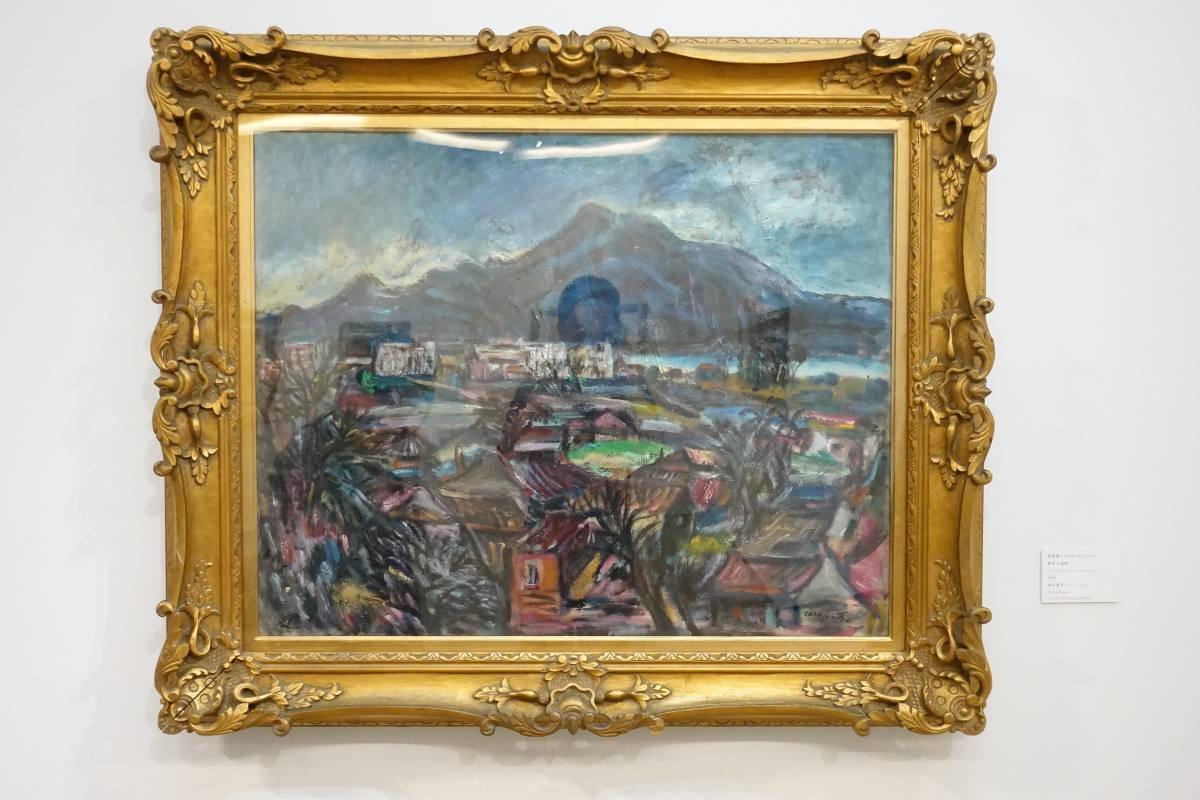 張萬傳,《觀音山遠眺》,1985