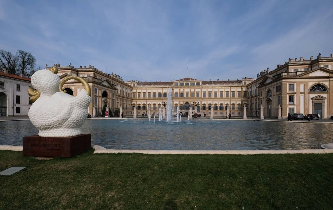 義大利蒙札皇宮美術館  (Villa Reale of Monza, Italy)