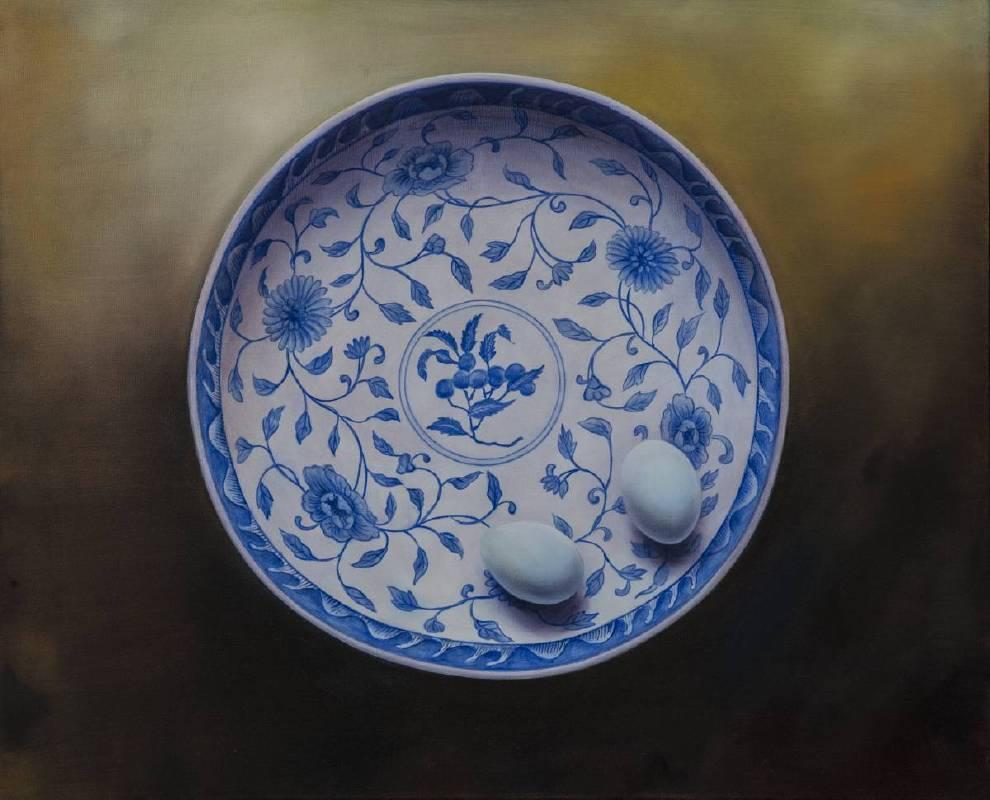 鍾麗香,《圓系列-3》。