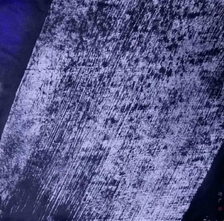 2018 冷冷的月 43X42.5cm  廖鴻興 紙本墨彩
