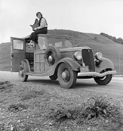 Dorothea Lange。圖/取自Wikipedia。